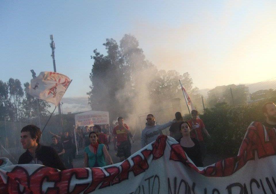 Occupy Pisa occupa polisportiva abbandonata a Pratale